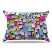 East Urban Home Trebam 'Respekt' Rainbow Paper Pillow Case