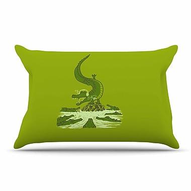 East Urban Home BarmalisiRTB 'Breakdance Crocodile' Pillow Case