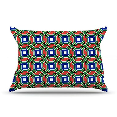 East Urban Home Bruce Stanfield 'South Africa' Pillow Case