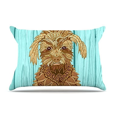 East Urban Home Art Love Passion 'Gatsby The Great' Dog Pillow Case