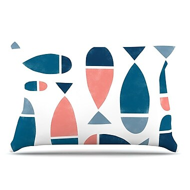 East Urban Home Alik Arzoumanian 'Fish' Pillow Case