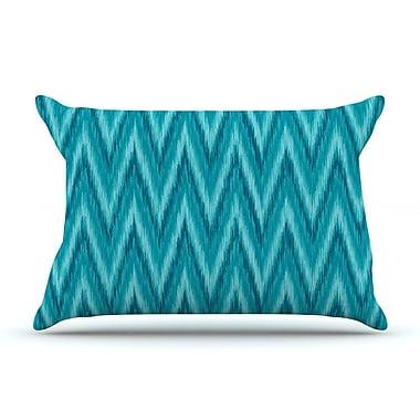 East Urban Home Amanda Lane 'Island Blue' Pillow Case