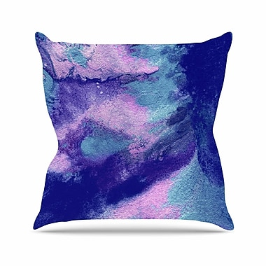 East Urban Home Ashley Rice AC4 Abstract Outdoor Throw Pillow; 18'' H x 18'' W x 5'' D