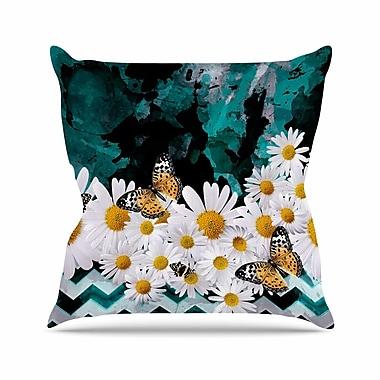 East Urban Home Shirlei Patricia Muniz Secret Garden Floral Outdoor Throw Pillow