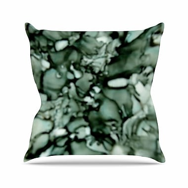 East Urban Home Claire Day Neutral Outdoor Throw Pillow; 18'' H x 18'' W x 5'' D