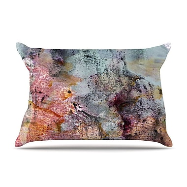 East Urban Home Iris Lehnhardt 'Floating Colors' Pillow Case