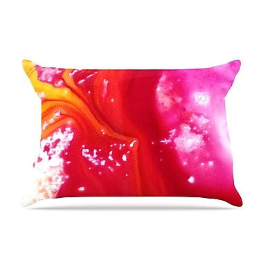 East Urban Home Malia Shields 'The Color River Iii' Pillow Case