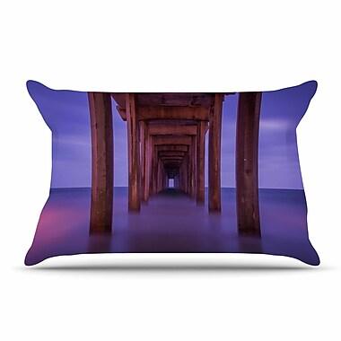 East Urban Home Juan Paolo 'Scripps Pier' Pillow Case