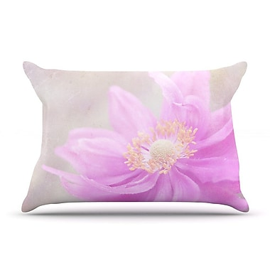 East Urban Home Iris Lehnhardt 'Wind Flower' Floral Pillow Case