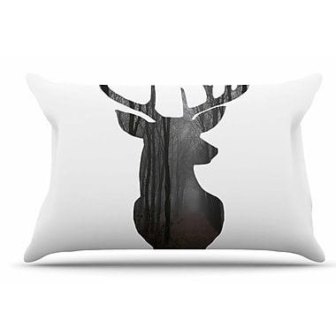 East Urban Home Suzanne Carter 'The Road2' Contemporary Nature Pillow Case