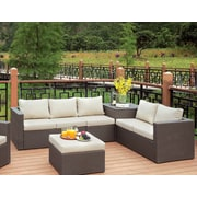 Longshore Tides Hague Contemporary Loveseats and Armless Chair