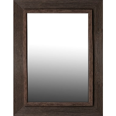 Loon Peak Brown Washed Aged Accent Mirror
