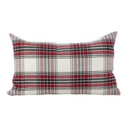 Loon Peak Almeda Tartan Plaid Traditional Cotton Lumbar Pillow