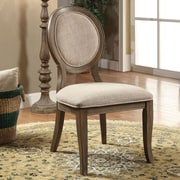 One Allium Way Bloomingdale Transitional Side Chair (Set of 2)