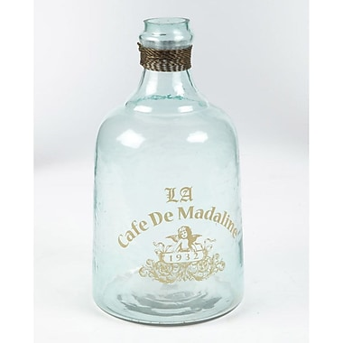 Ophelia & Co. Clear Glass Decorative Bottle