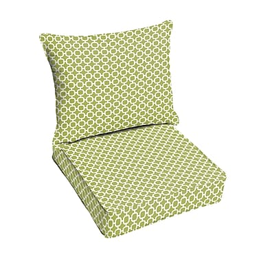 Latitude Run Pear Outdoor Lounge Chair Cushion