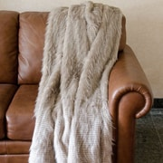 Union Rustic 78'' Casey Faux Fur Throw