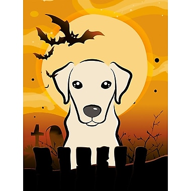 Caroline's Treasures Halloween 2-Sided Garden Flag; Labrador