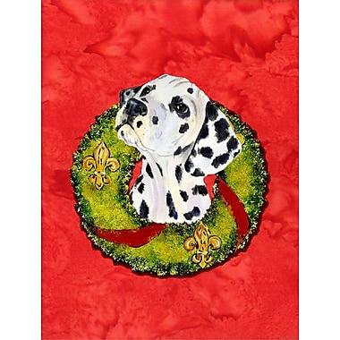 Caroline's Treasures 2-Sided Garden Flag; Dalmatian
