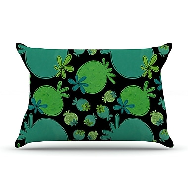 East Urban Home Jane Smith 'Garden Pods' Pillow Case
