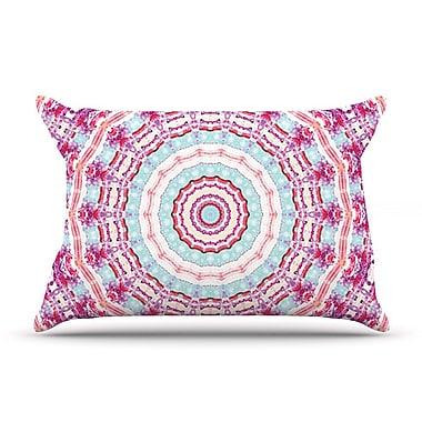 East Urban Home Iris Lehnhardt 'Happy' Circle Pillow Case