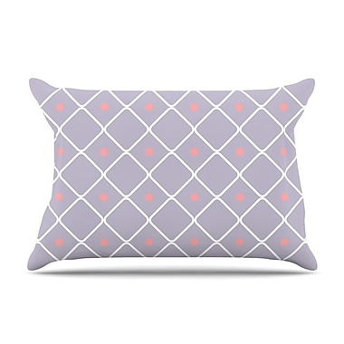 East Urban Home 'Lilac Web' Pillow Case