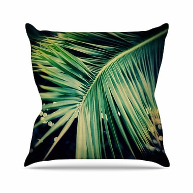 East Urban Home Angie Turner Palm Frond Nature Outdoor Throw Pillow; 16'' H x 16'' W x 5'' D