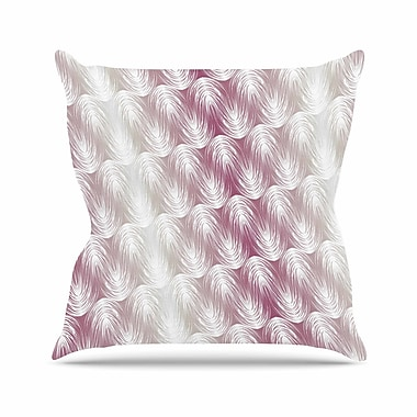 East Urban Home Gukuuki Stripe Palms Outdoor Throw Pillow; 16'' H x 16'' W x 5'' D