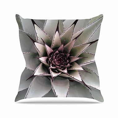 East Urban Home Suzanne Carter Succulent Outdoor Throw Pillow; 18'' H x 18'' W x 5'' D