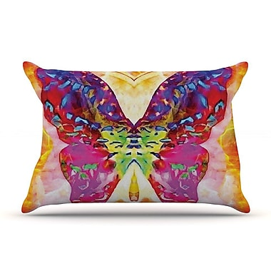 East Urban Home Anne LaBrie 'Butterfly Spirit' Pillow Case