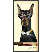 Latitude Run 'Doberman Pinscher' Framed Graphic Art Print