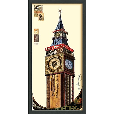 Latitude Run 'Big Ben' Framed Graphic Art Print