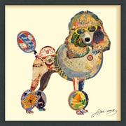 Latitude Run 'Poodle' Framed Graphic Art Print