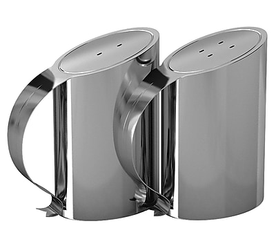 NU Steel Salt and Pepper Shaker Set WYF078281182432
