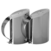 NU Steel Salt and Pepper Shaker Set