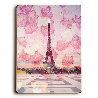 Ophelia & Co. 'La Tour Eiffel' Graphic Art Print on Wood