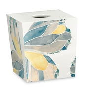 Popular Bath Products Shell Rummel Butterfly Tissue Box Cover