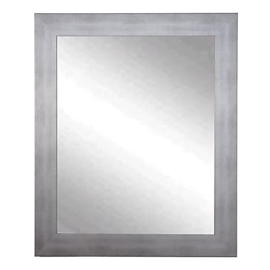 Brayden Studio Neutral Interior Trend Wall Mirror; 32'' H x 22'' W x 0.75'' D