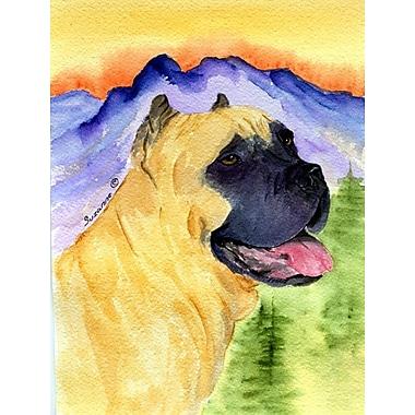 East Urban Home Dog and Mountain 2-Sided Garden Flag; Cane Corso