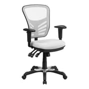 Offex Mid-Back Mesh Desk Chair; White
