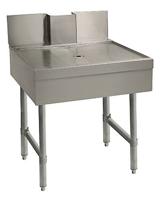 Advance Tabco Beer Drainer Specialty Free Standing Bar Drainboard; 33'' H x 18'' L x 21'' W