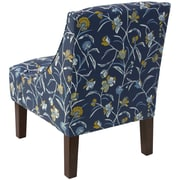 Alcott Hill Moorcroft Floral Arm Chair
