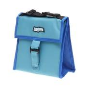 Maranda Enterprises FlexiFreeze Freezable Snack Tote Cooler; Teal/Blue