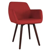 George Oliver Brockton Side Chair; Burgundy