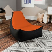 Harriet Bee Bean Bag Gaming Chair; Orange