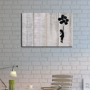 Ivy Bronx 'Floating Away' Graphic Art Print on Brushed Aluminum; 16'' H x 20'' W x 1'' D