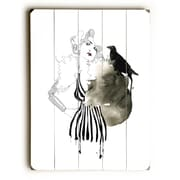 Rosdorf Park 'Pinup Stripes' Rectangle Graphic Art Print on Wood; 16'' H x 12'' W x 1.5'' D