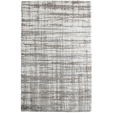 17 Stories Menzies Stripes Cream Area Rug; 8' x 10'