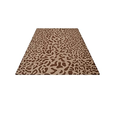 World Menagerie Boyer Hand-Tufted Wool Camel/Brown Area Rug; 8' x 11'