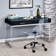 Brayden Studio Tamia Contemporary Writing Desk; Black